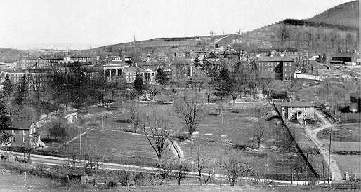 1929 photo of Western State Hospital - Click to view larger photo
